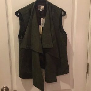 Kut from the Kloth Olive Vest